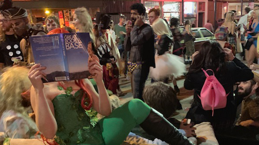 The Great Book of BASE – Reviewer Mara Lucien can't put it down, even for a New Orleans party!