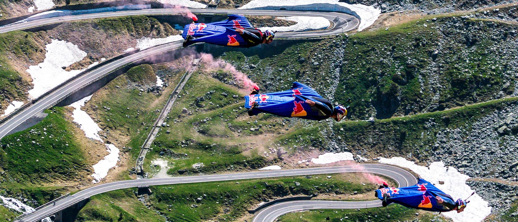 Red Bull over Transfăgărășan Road